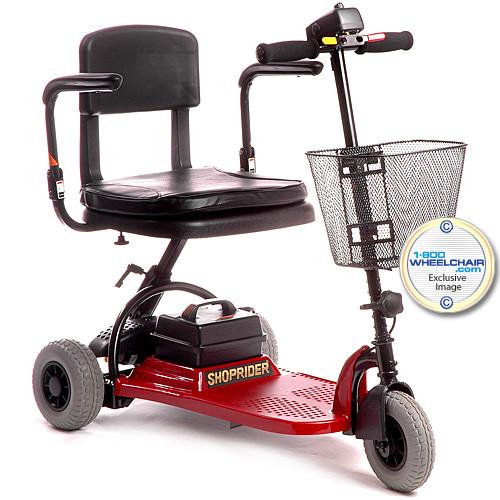 Shoprider Echo 3 Wheel Mobility Scooter 1800wheelchair Com