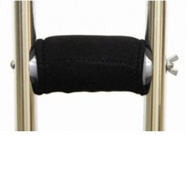 Gel Crutch Handle Cover With Velcro Closure