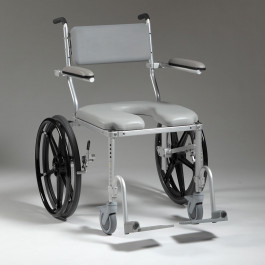 Multichair Heavy Duty Shower Commode Wheelchair