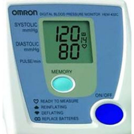 Omton Manual Inflation Blood Pressure Monitor