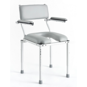 Multichair Shower/Commode Seat with Sing-Away Arms
