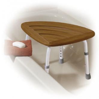 Awe Inspiring Teak Wood Adjustable Shower Bath Stool Inzonedesignstudio Interior Chair Design Inzonedesignstudiocom