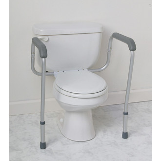 Toilet grab bar safety rail by medline - Handicap bars for bathroom toilet ...