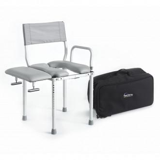 Enjoyable Multichair Travel Shower Commode Seat With Swing Away Transfer Bench Evergreenethics Interior Chair Design Evergreenethicsorg