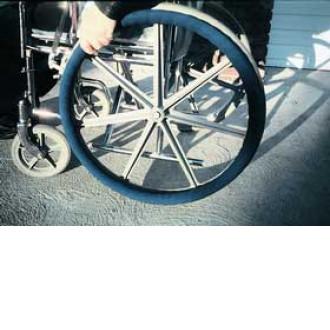 Ali Med Wheel Ease Wheelchair Rim Cover 1800wheelchair Com