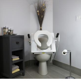 Ez-Access Tilt Toilet Seat Lift | 1800wheelchair