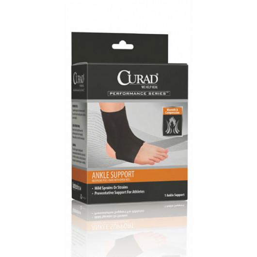 Curad Open Heel Neoprene Ankle Support