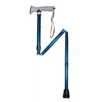 Aluminum Folding Cane with Gel Grip