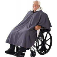 Silvert's Unisex Lined Wheelchair Poncho