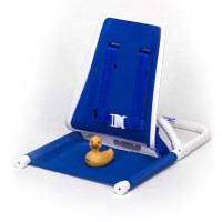 Wrap-Around Pediatric Bath Support with High Back