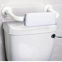 Padded Toilet Backrest Grab Bar