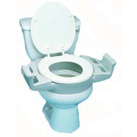 Heavy Duty Elevated Toilet Seat