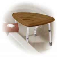 Teak Wood Adjustable Shower & Bath Stool