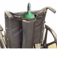 Wheelchair Single Oxygen Bag / Holder