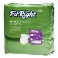 Medline FitRight Ultra Briefs (case)