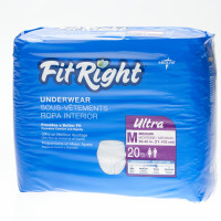 Medline FitRight Ultra Protective Underwear