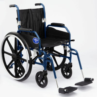 Medline Hybrid 2 Transforming Manual to Transport Wheelchair