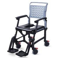 Bathmobile Folding Commode Shower Chair