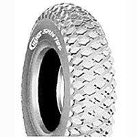 "Tire (8"" x 2"") Pneumatic ~ Lt Grey, Tread C968, 36 PSI"