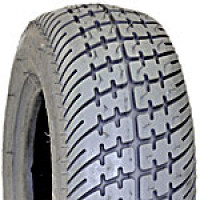 "Tire (8"" x 2.5"") Foam-Filled, Lt Grey ~ Tread C9267"