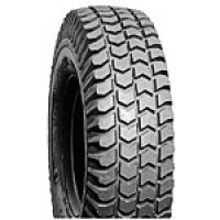 "Tire (10"" x 3"") Foam Filled, Lt Grey ~ Tread C248 Wide"