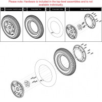 Pneumatic Wheels for Jazzy 614 HD on