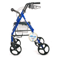"Big Wheel Rollator, 8"" wheels"