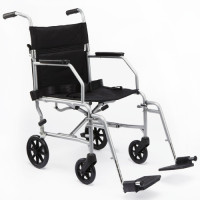 Medline Standard Steel Transport Chair