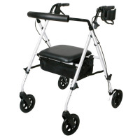 Medline Deluxe Rollator with Adjustable Seat