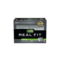 Depends Real Fit Briefs for Men (case)
