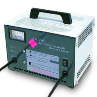 Dual-Mode 24 Volt, 8 Amp Battery Charger