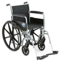 Medline Quick-Delivery Basic Wheelchair