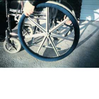 Ali-Med Wheel-Ease Wheelchair Rim Cover