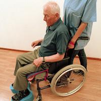 RoMedic OneWaySlide for Wheelchair Positioning