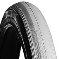 "Pneumatic Wheelchair Tire (25"" x 1"") ~ Tread C1083"