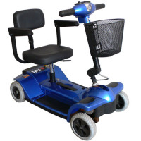 Zip'r 4-Wheel Compact Scooter
