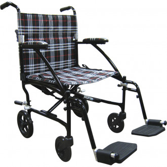 Fly Lite Transport Chair By Drive 1800wheelchair Com