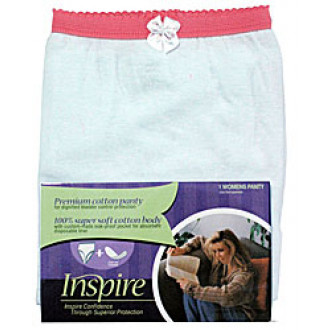 29ade3936 Inspire Cotton Briefs or Panties w  Insert for Pads
