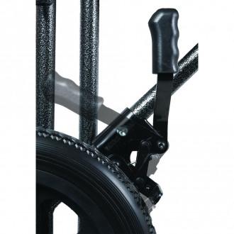Probasics Bariatric Steel Transport Chair 1800wheelchair Com
