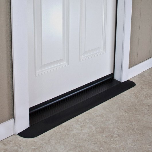 EZ Edge Recycled Rubber Threshold Ramp (1/2