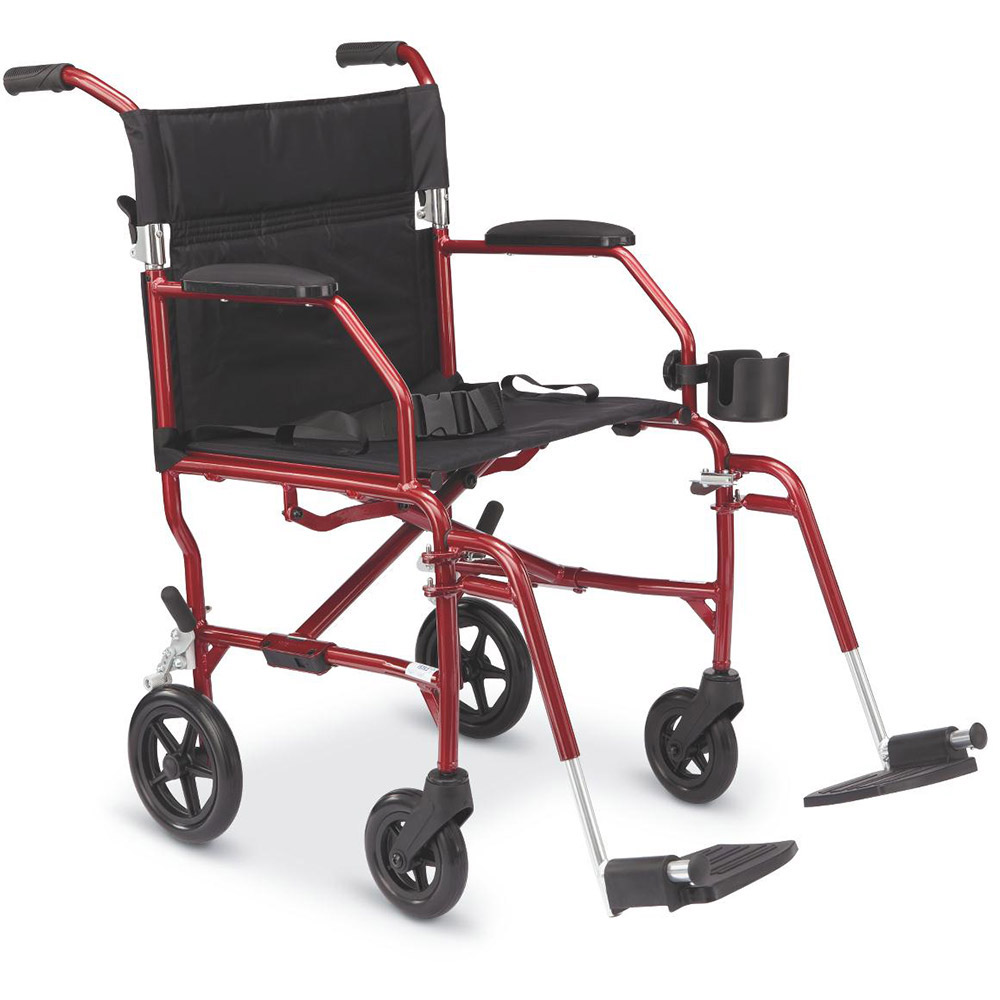Medline ultralight transport chair 155 00 view details